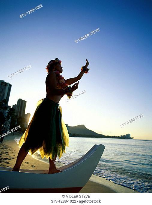 America, Beach, Boat, Calm, Dawn, Gesture, Gesturing, Hawaii, Hawaiian, Holiday, Honolulu, Inspiration, Inspirational, Landmark