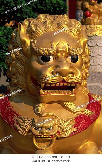 China, Hong Kong, New Territories, Sha Tin, Ten Thousand Buddha Monastery Pagoda