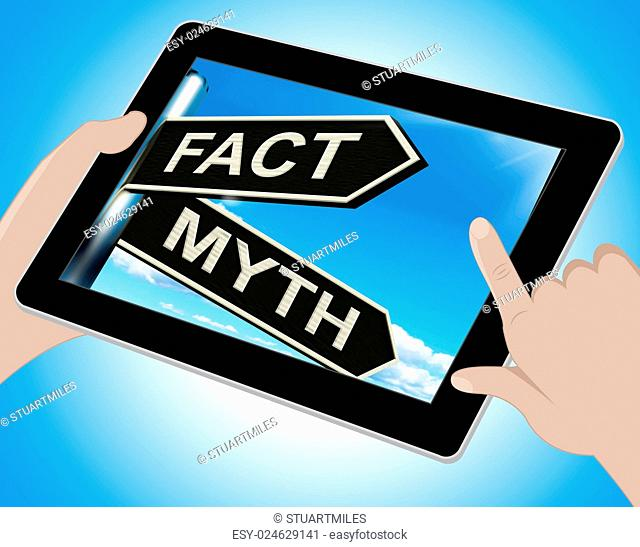 Fact Myth Tablet Meaning Correct Or Incorrect Information