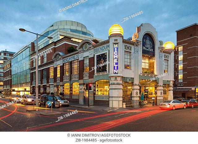 Bibendum,the Conran store,Michelin House on Fulham Road,London,England