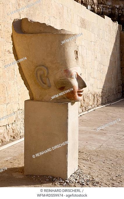 Head of Queen Hatshepsut Statue, Luxor, Egypt