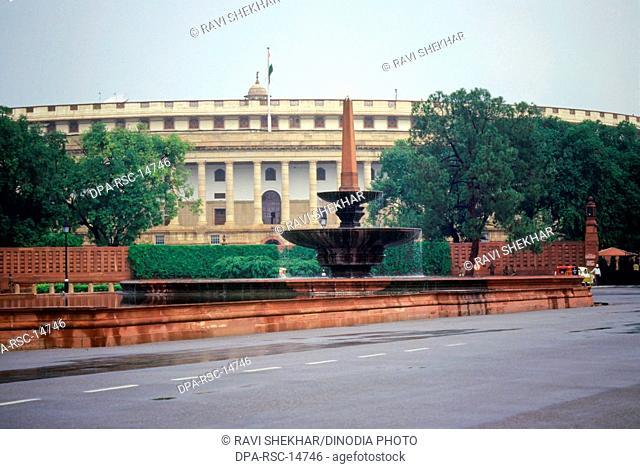 Parliament House, New Delhi, India