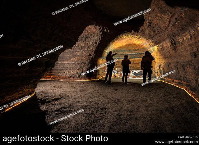 Caves of Hella, Hella, Iceland