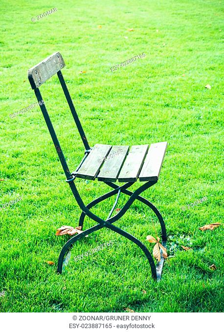 Chair on a meadow II