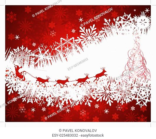 Christmas festive background. EPS 10 Vector illustration with transparency and meshes