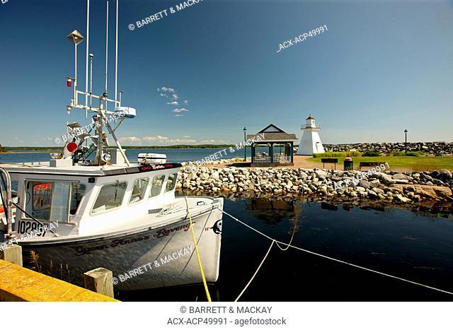 Port Medway Lighthouse Park, Nova Scotia, Canada