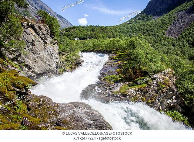 Videseter waterfall, Norway