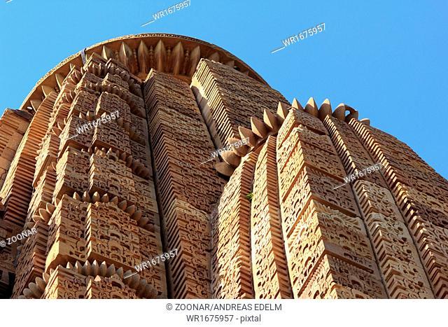 Temple buildings of Khajuraho