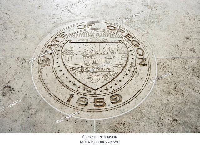 Seal of Oregon in Fort Bonifacio, Manila, Philippines