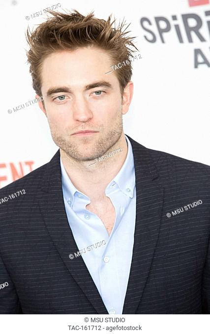 Robert Pattinson attends the Independent Spirit Awards on March 3, 2018 in Santa Monica, California
