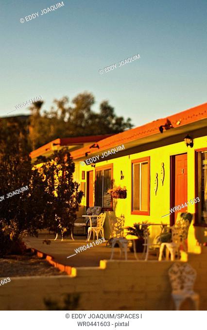 Motel at Sunset