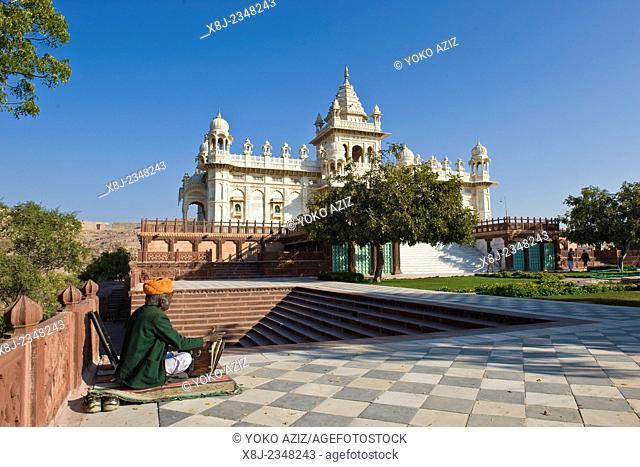 India, Rajasthan, Jodhpur, Jaswant Thada temple