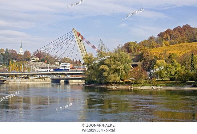 Rhine bridge Schaffhausen, Switzerland