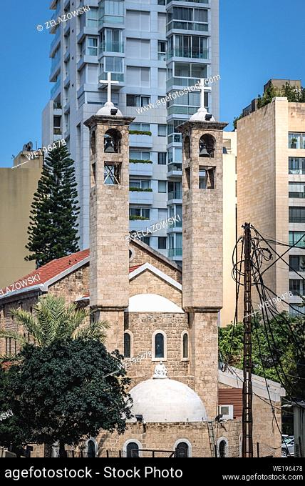 Saint Maron Maronite Church in Beirut, Lebanon