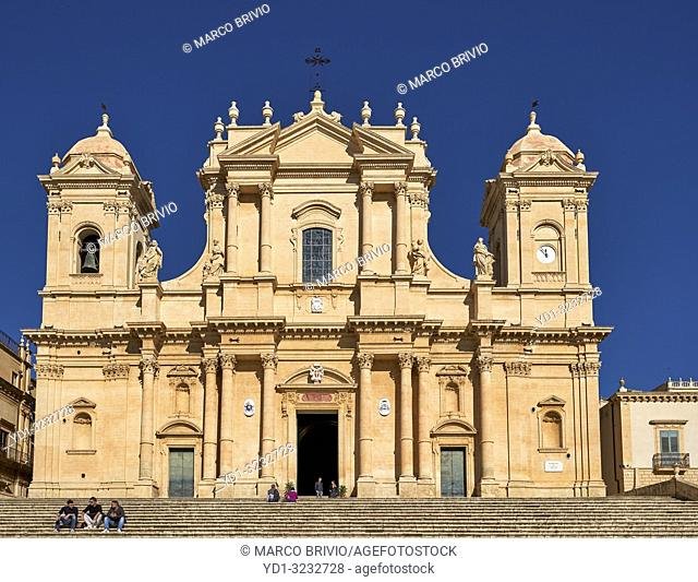 Noto Cathedral Sicily Italy