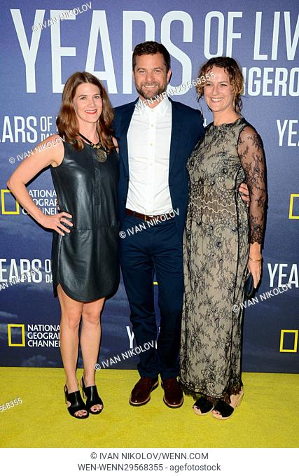 National Geographic's 'Years Of Living Dangerously' New Season World Premiere at The American Museum of Natural History - Red Carpet Arrivals Featuring: Joshua...