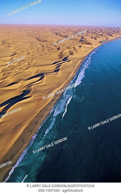Coastal dunes at Sandwich Bay, Namibia