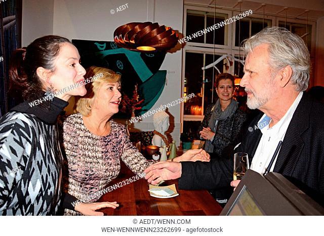 Celebrities attend the opening of Home on Earth store at Hackesche Hoefe Featuring: Antonia Feuerstein, Julia Speidel, Peter Sattmann Where: Berlin