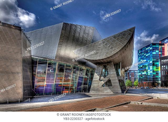 The Lowry, Salford Quays, Manchester, England