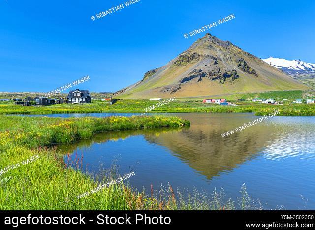 Arnarstapi, Snaefellsnes Peninsula, Iceland