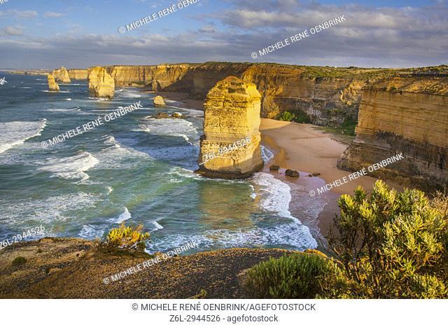 Twelve Apostles Port Campell National Park along the Great Ocean Road in Victoria, Australia