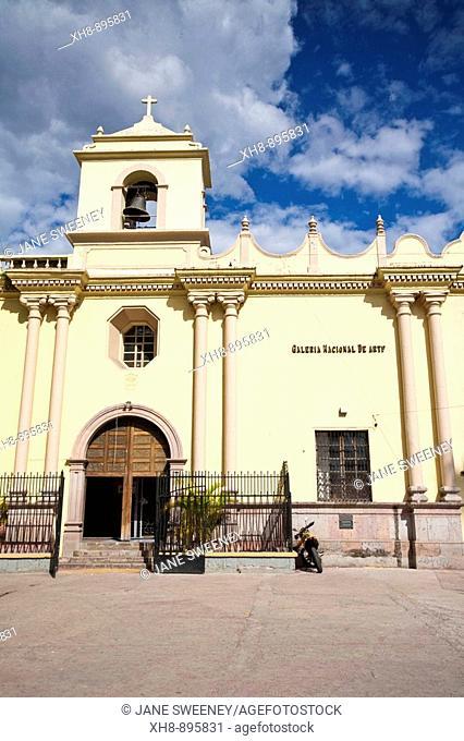 La Merced church and National Gallery of Art, Tegucigalpa, Honduras