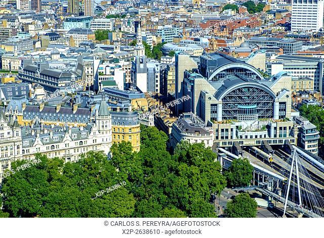 Panoramic of London, England, United Kingdom