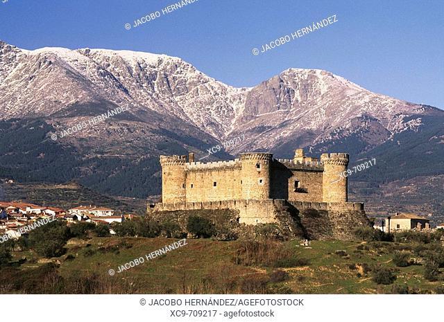 Castillo de Mombeltrán.S.XV.Sierra de Gredos.Ávila province.Castilla y León.España