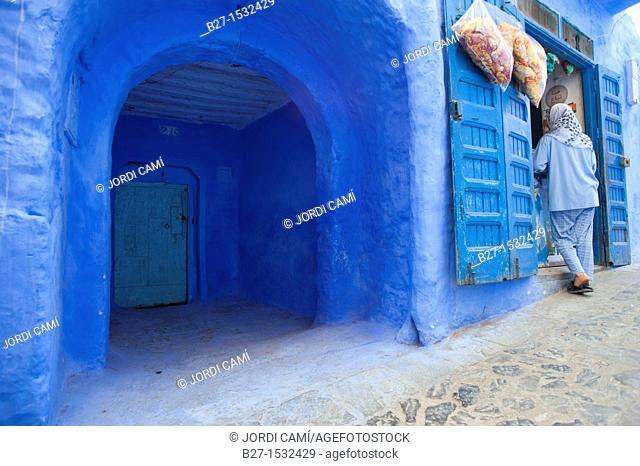 Chefchaouen, Rif region  Morocco North Africa