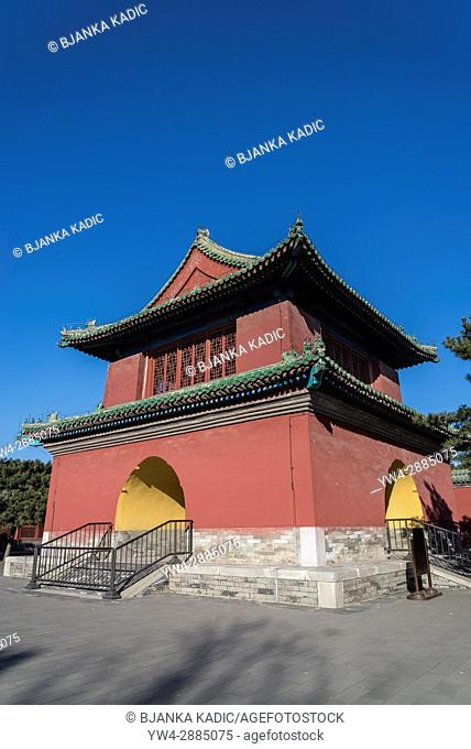 Belfry, Fasting Palace or Palace of Abstinence, Temple of Heaven, Beijing, China, Temple of Heaven, Beijing, China