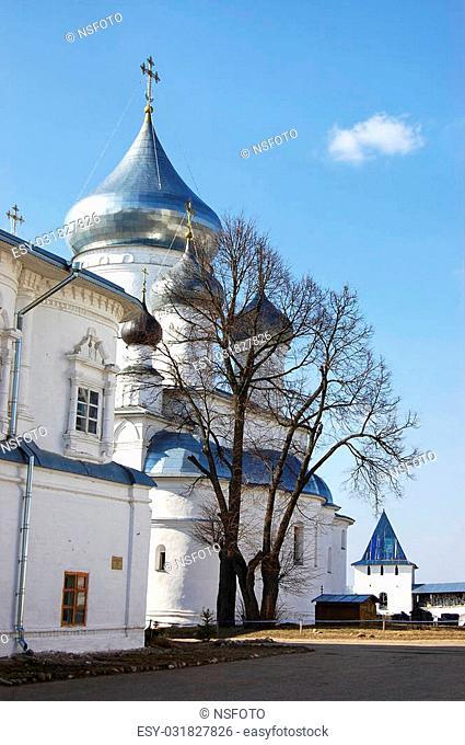 Nikita Monastery in Pereslavl Zalessky early spring
