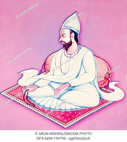 thirteenth acharya shree, maha saheb, kabir math, varanasi, uttar pradesh, Asia, India
