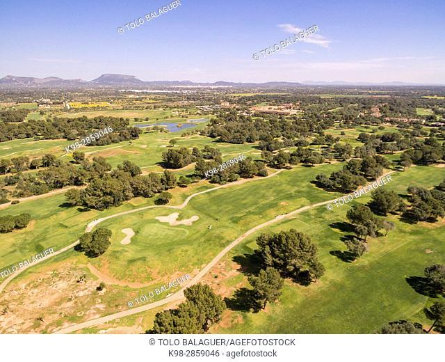 Golf Son Antem, (Marriot), Municipality of Llucmajor, Mallorca, balearic islands, spain, europe