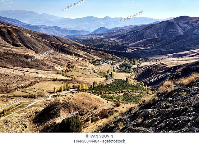 Yeghegis valley, Vayots Dzor province, Armenia