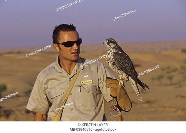 Falconers, Gerfalke