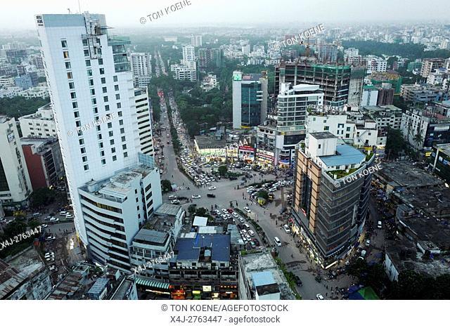 View on Dhaka, Bangladesh