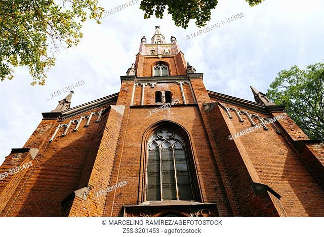 St. Saviour's Anglican Church. Riga, Latvia, Baltic states, Europe