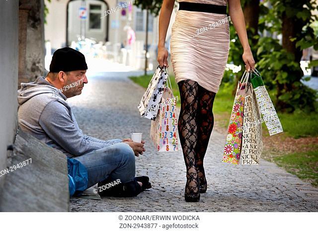 wie man eine reiche Frau trifft