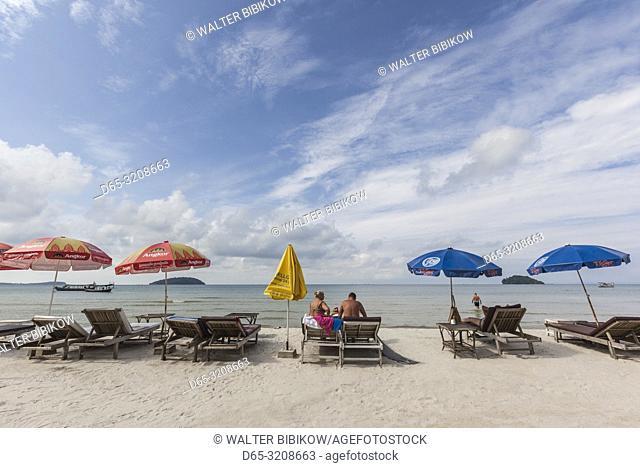 Cambodia, Sihanoukville, Otres Beach, NR