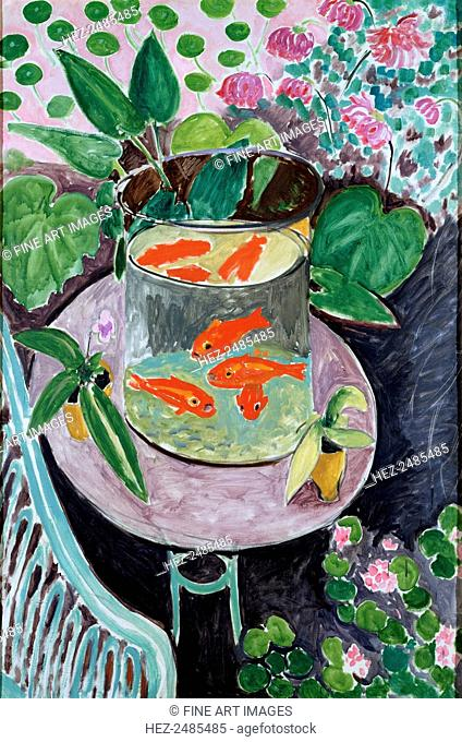 'Goldfish', 1912. Found in the collection of the State A Pushkin Museum of Fine Arts, Moscow. ARTIST'S COPYRIGHT MUST ALSO BE CLEARED