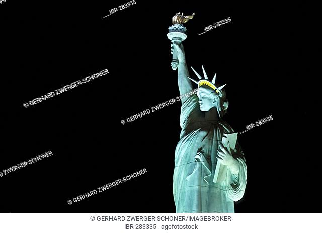 Statue of liberty of the Hotel and Casino New York, Las Vegas, Nevada, United States of America, USA