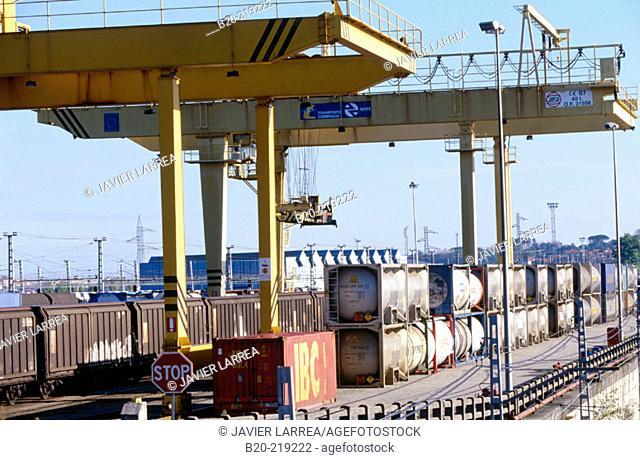 Train station. Irun. Guipúzcoa (Spanish-French border)