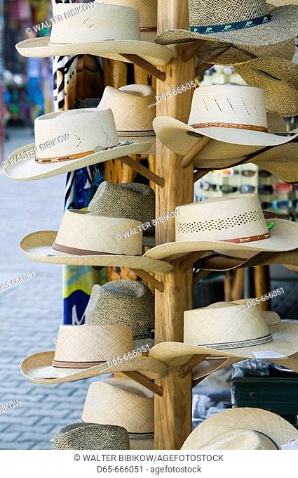 MEXICO-Pacific Coast-JALISCO-Barra de Navidad: Souvenir Hats