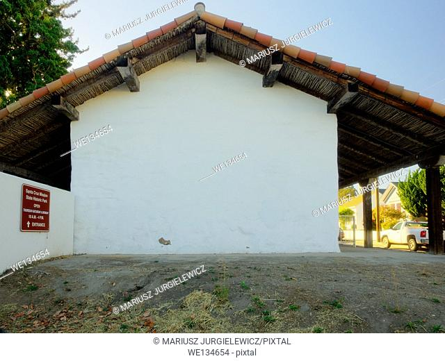 Mission Santa Cruz was a Spanish mission founded by the Franciscan order in present-day Santa Cruz, California