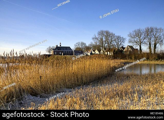 Schokland is a former island in the Dutch province Noordoostpolder and is now a Unesco World Heritage site
