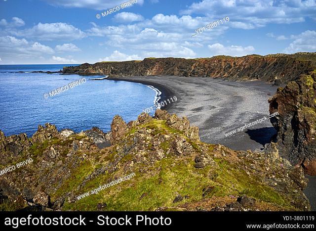 Djupalonssandur beach. Snaefellsnes peninsula. Iceland