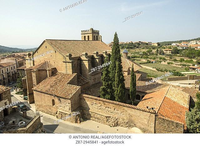 Iglesia ex Colegiata de la Natividad. Mora de Rubielos.Camino del Cid. Aragón. Spain