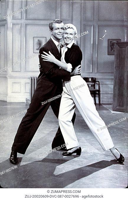 1951, Film Title: LULLABY OF BROADWAY, Director: DAVID BUTLER, Studio: WARNER, Pictured: DAVID BUTLER, DANCING COUPLES, DORIS DAY