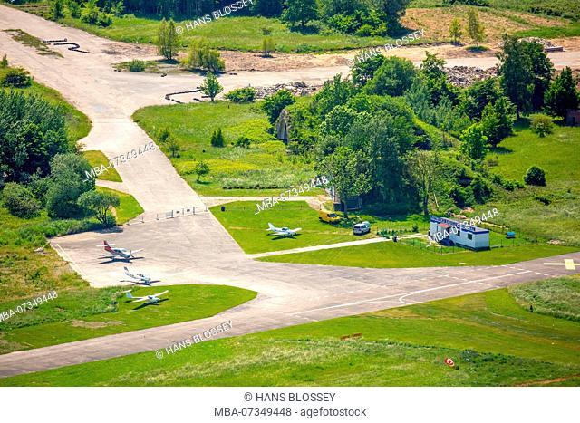 Airfield Lotnisko Ko?obrzeg-Bagicz, Ko?obrzeg, Baltic Sea coast, Województwo zachodniopomorskie, Poland