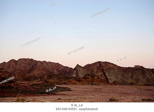 National Timna Park, located 25 km north of Eilat, Israel